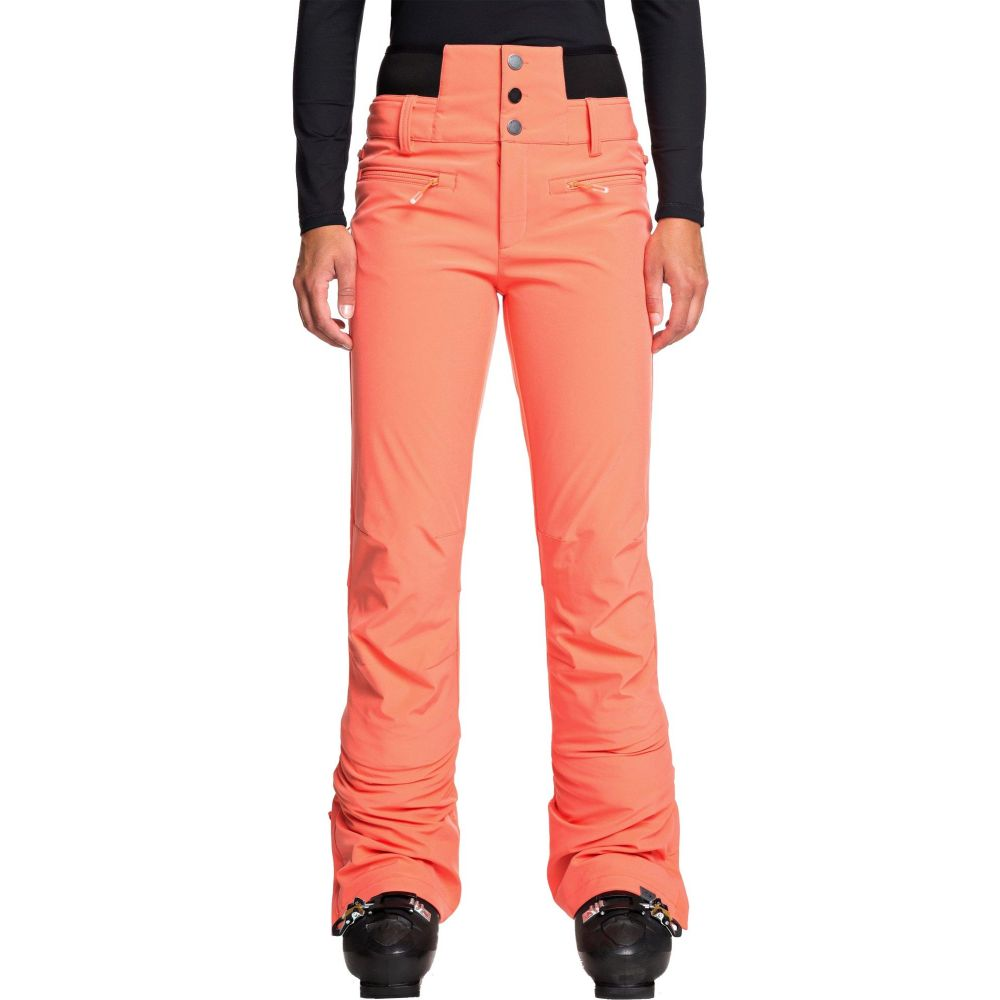 ロキシー Roxy レディース ボトムス・パンツ 【Rising High High Waist Snow Pants】Living Coral