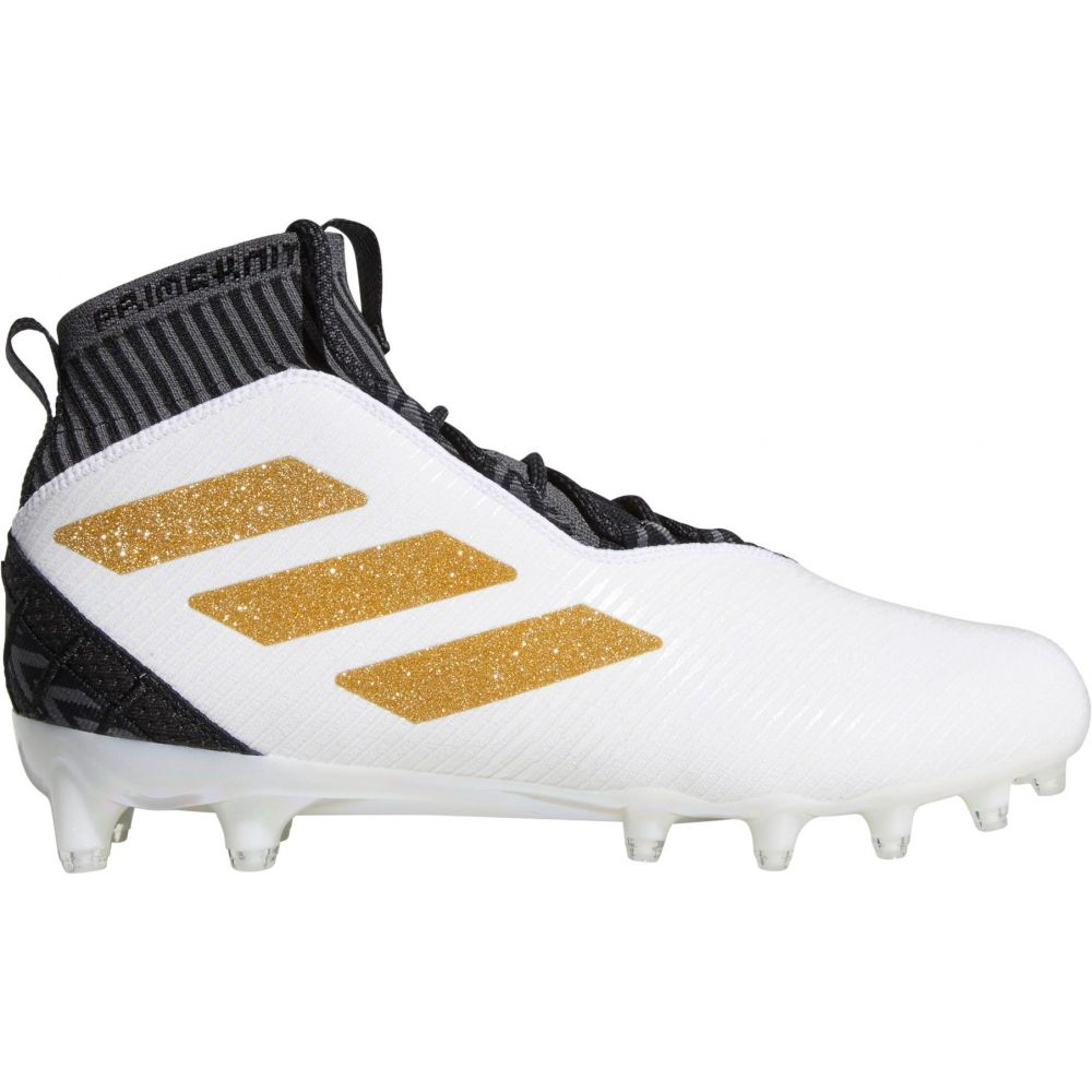 アディダス adidas メンズ アメリカンフットボール スパイク シューズ・靴【Freak Ultra Football Cleats】White/Gold
