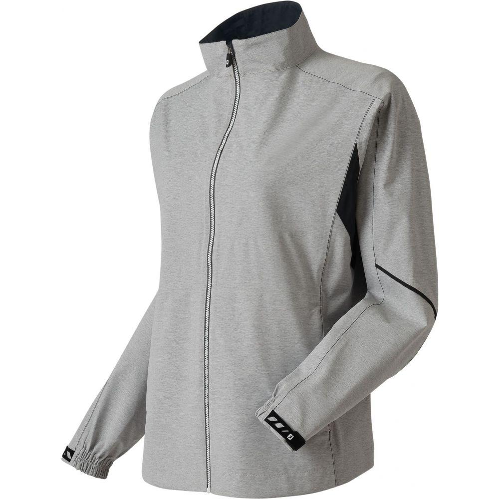 フットジョイ FootJoy レディース ゴルフ レインジャケット アウター【HydroLite Golf Rain Jacket】Charcoal Grey