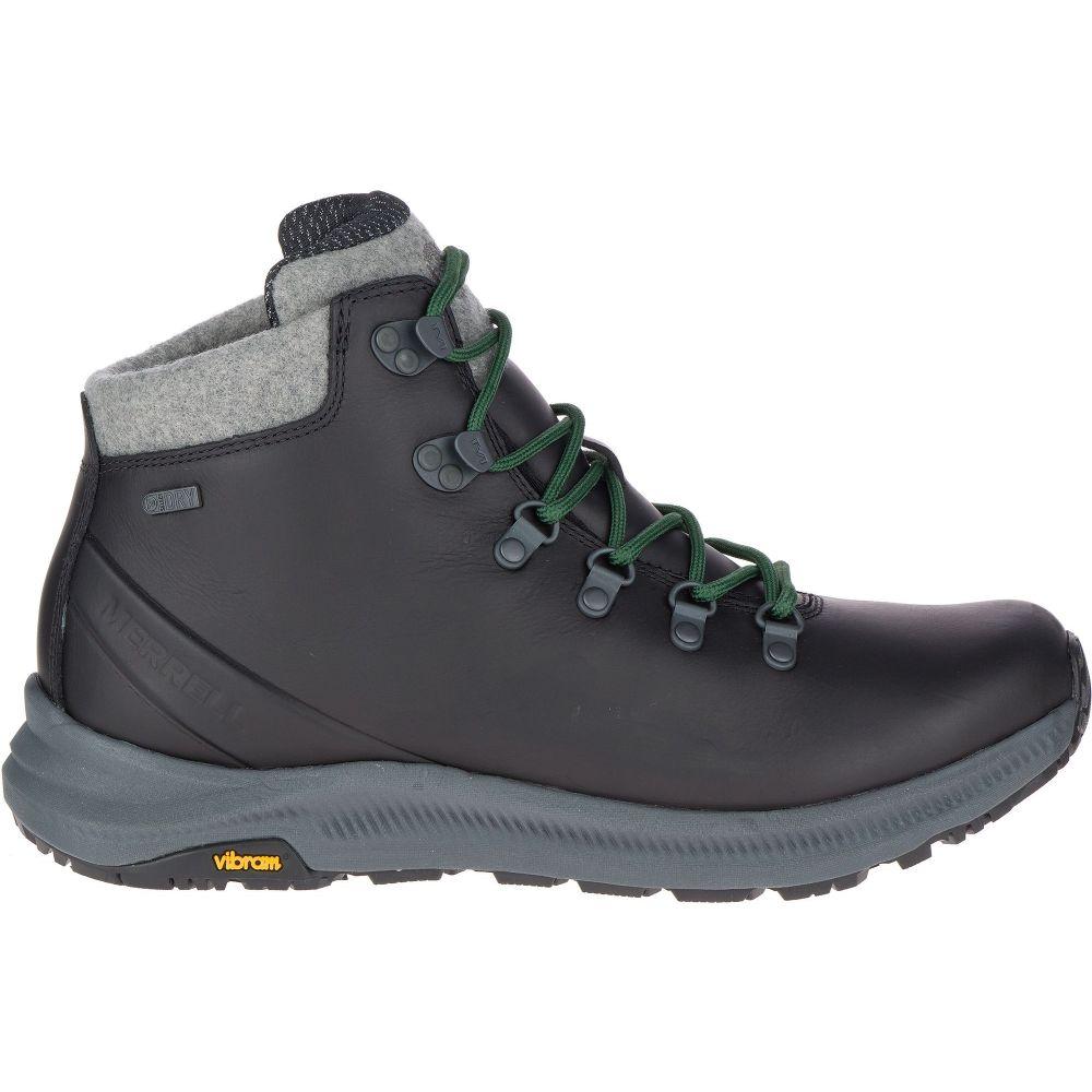 メレル Merrell メンズ ハイキング・登山 ブーツ シューズ・靴【Ontario Thermo Mid Waterproof Hiking Boots】Black