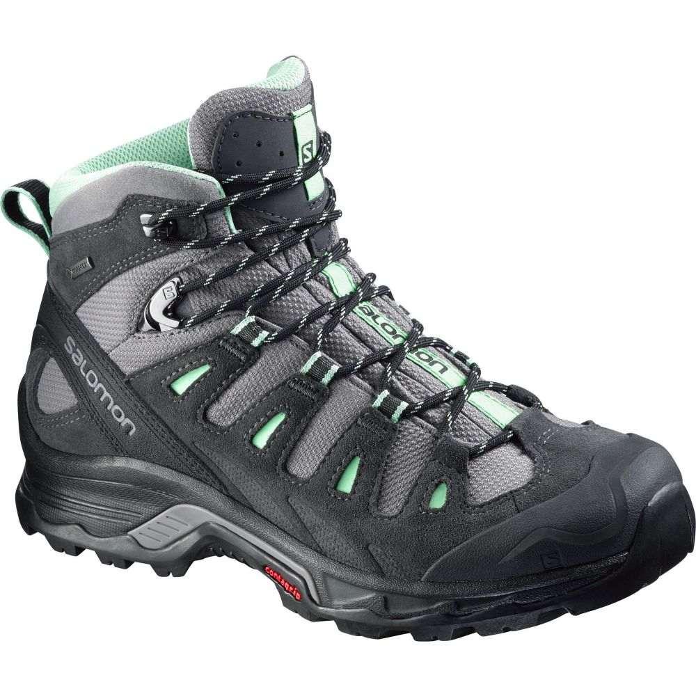 サロモン Salomon レディース ハイキング・登山 ブーツ シューズ・靴【Quest Prime GTX Waterproof Hiking Boots】Detroit/Asphalt/Lucite