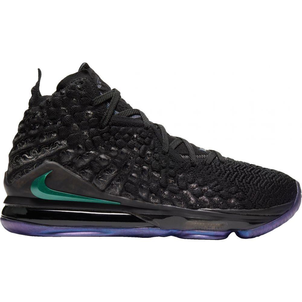 ナイキ Nike メンズ バスケットボール シューズ・靴【LeBron 17 Basketball Shoes】Black/Black