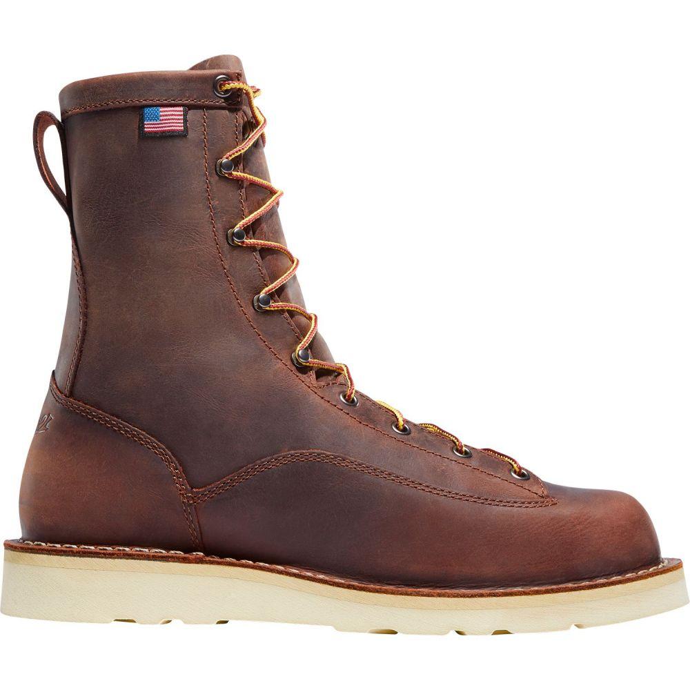 ダナー Danner メンズ ブーツ ワークブーツ シューズ・靴【Bull Run 8'' EH Work Boots】Brown