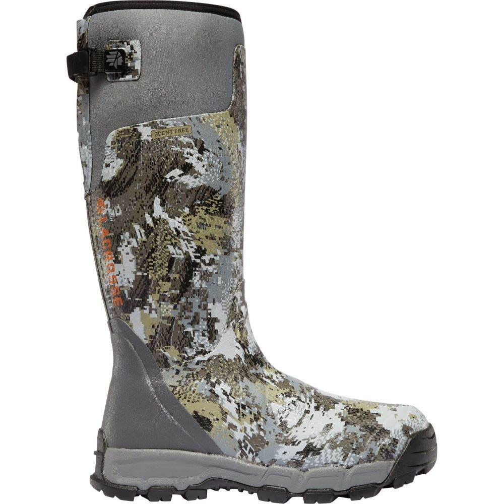 ラクロッセ LaCrosse メンズ ブーツ シューズ・靴【Alphaburly Pro 18'' Rubber Hunting Boots】Optifade Elevated Forest