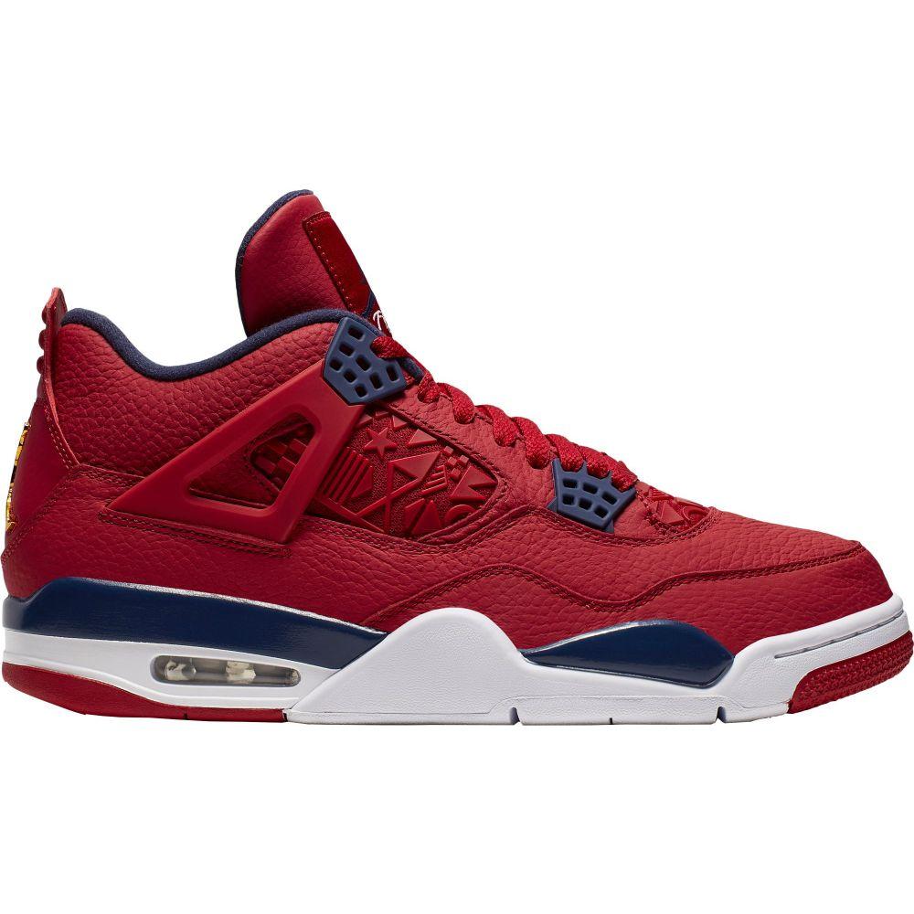 ナイキ ジョーダン Jordan メンズ バスケットボール シューズ・靴【Air 4 Retro Basketball Shoes】Gym Red/Obsidian/Gold