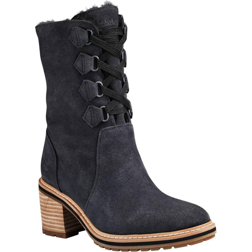 ティンバーランド Timberland レディース ブーツ シューズ・靴【Sienna Mid Waterproof Casual Boots】Jet Black