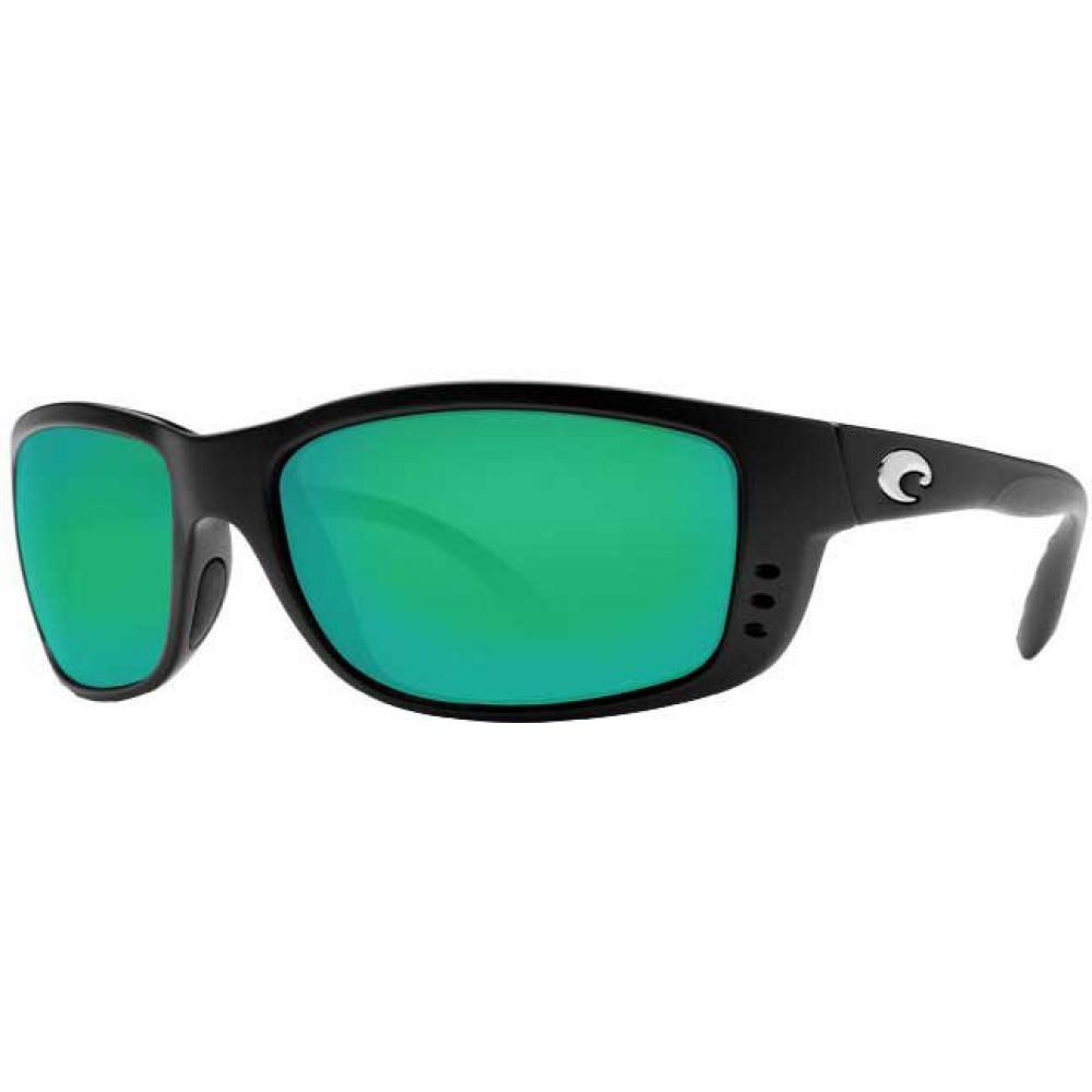 コスタデルメール Costa Del Mar メンズ メガネ・サングラス 【Zane 580P Polarized Sunglasses】Matte Black/Green