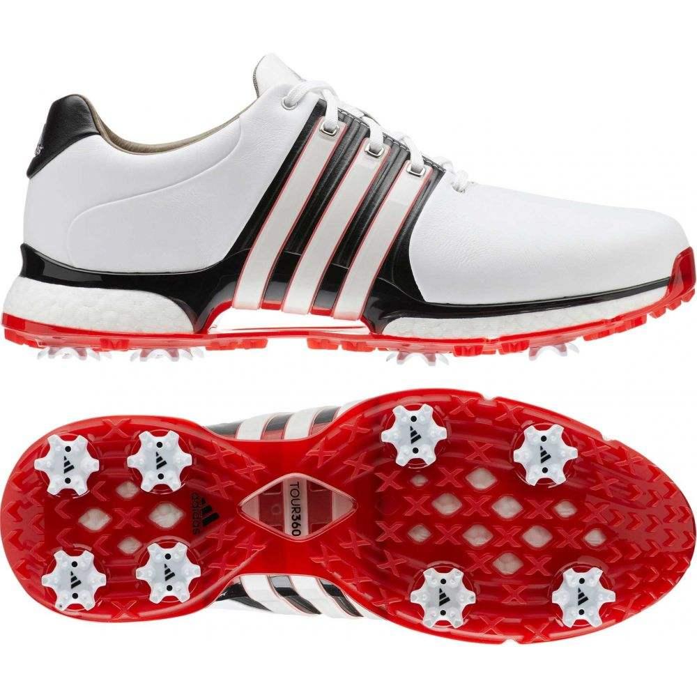 アディダス adidas メンズ ゴルフ シューズ・靴【TOUR360 XT Golf Shoes】白い/赤