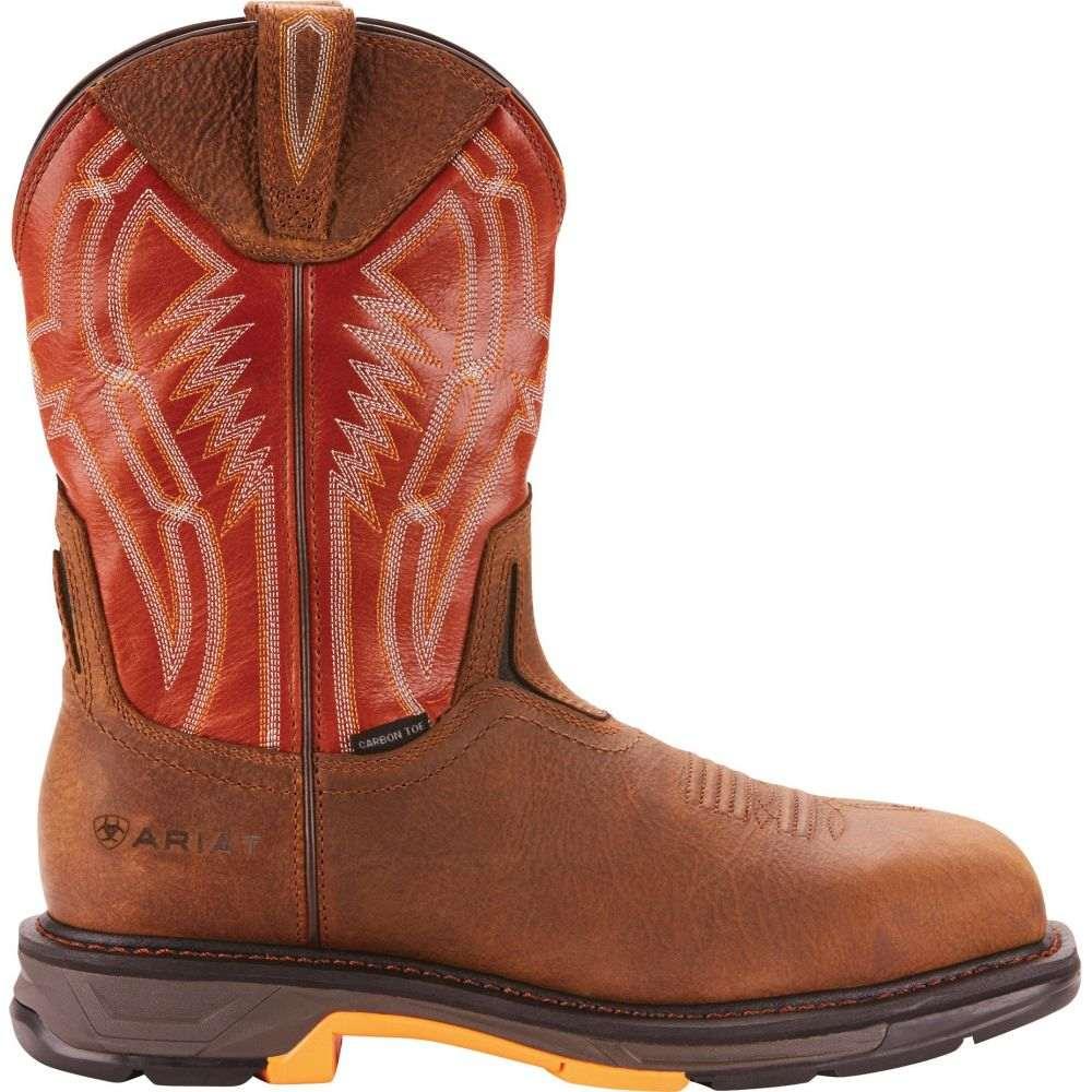 アリアト Ariat メンズ ブーツ ウェスタンブーツ ワークブーツ シューズ・靴【Workhog XT Dare Composite Toe Western Work Boots】Rye Brown