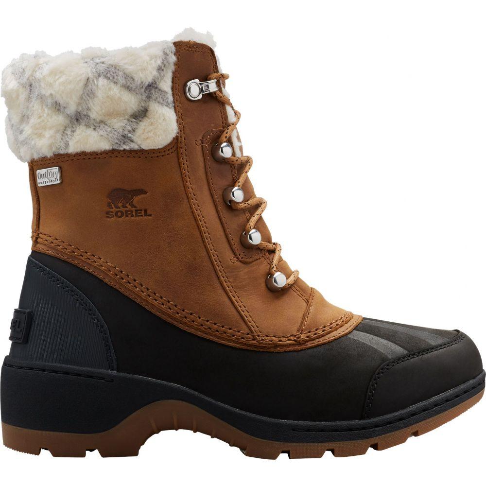 ソレル SOREL レディース ブーツ シューズ・靴【Sorel Whistler Mid 200g Boots】Camel Brown/Black