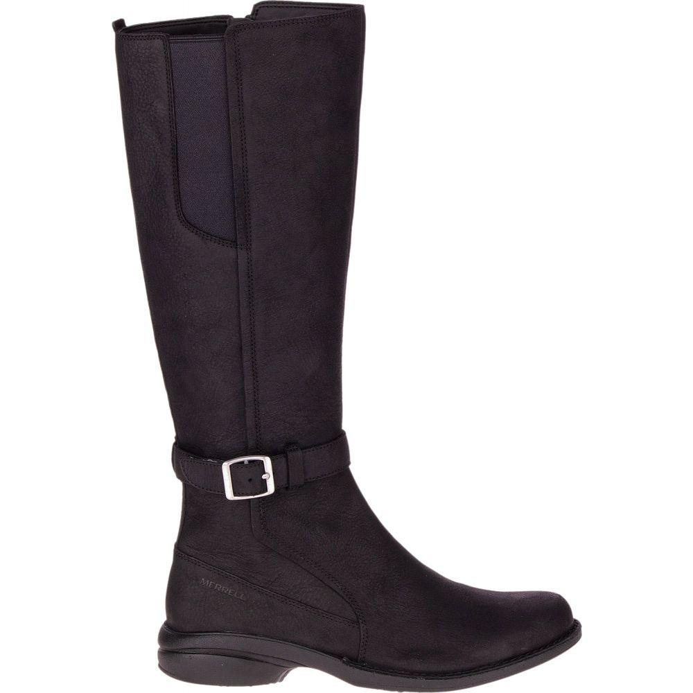 メレル Merrell レディース ブーツ シューズ・靴【Andover Tall Waterproof Boots】Black