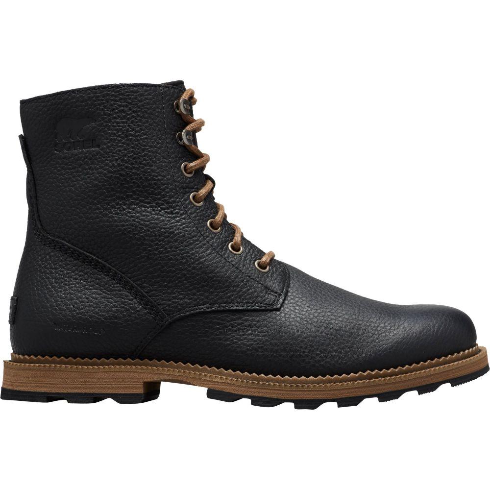 ソレル SOREL メンズ ブーツ シューズ・靴【Madson 6'' Waterproof Casual Boots】Black/Ancient