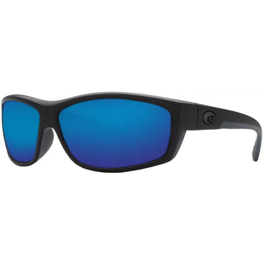 コスタデルメール Costa Del Mar メンズ メガネ・サングラス 【Saltbreak 580P Polarized Sunglasses】Blackout/Blue