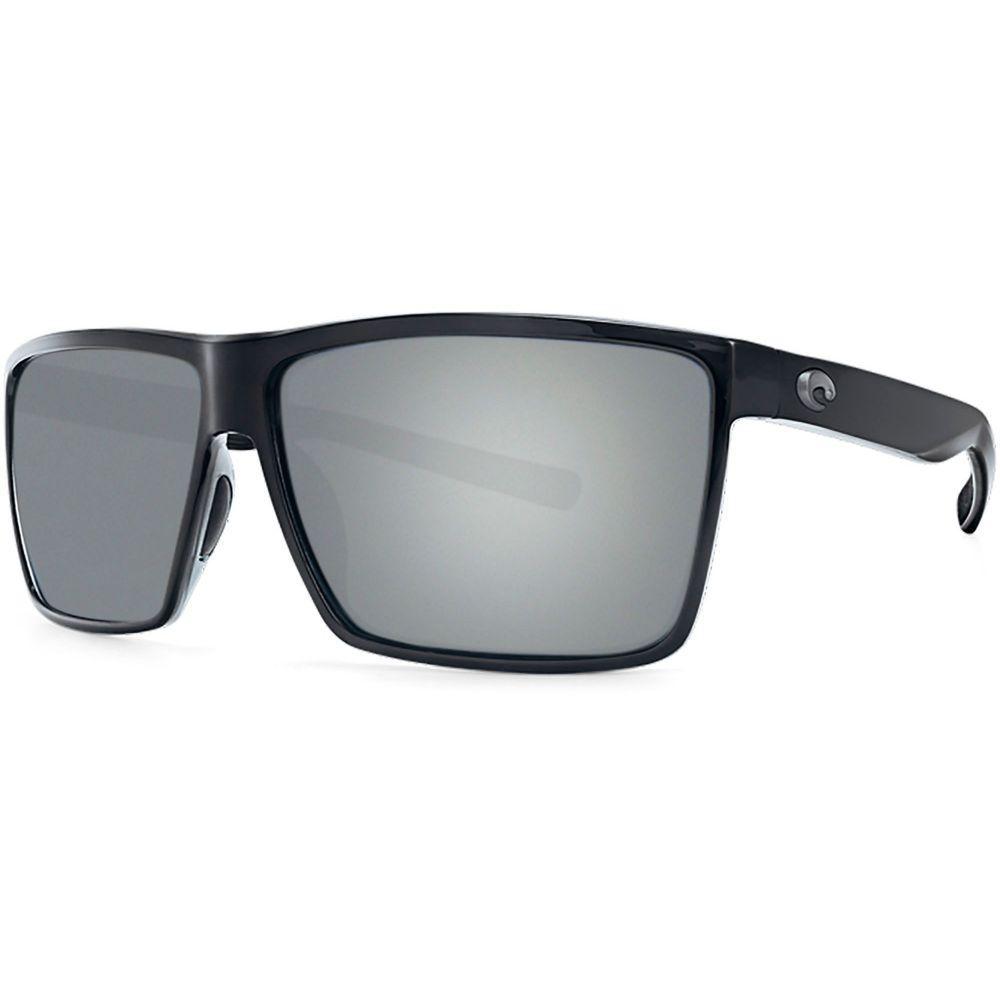 コスタデルメール Costa Del Mar メンズ メガネ・サングラス 【Rincon 580P Polarized Sunglasses】Shiny Black/Gray Silver