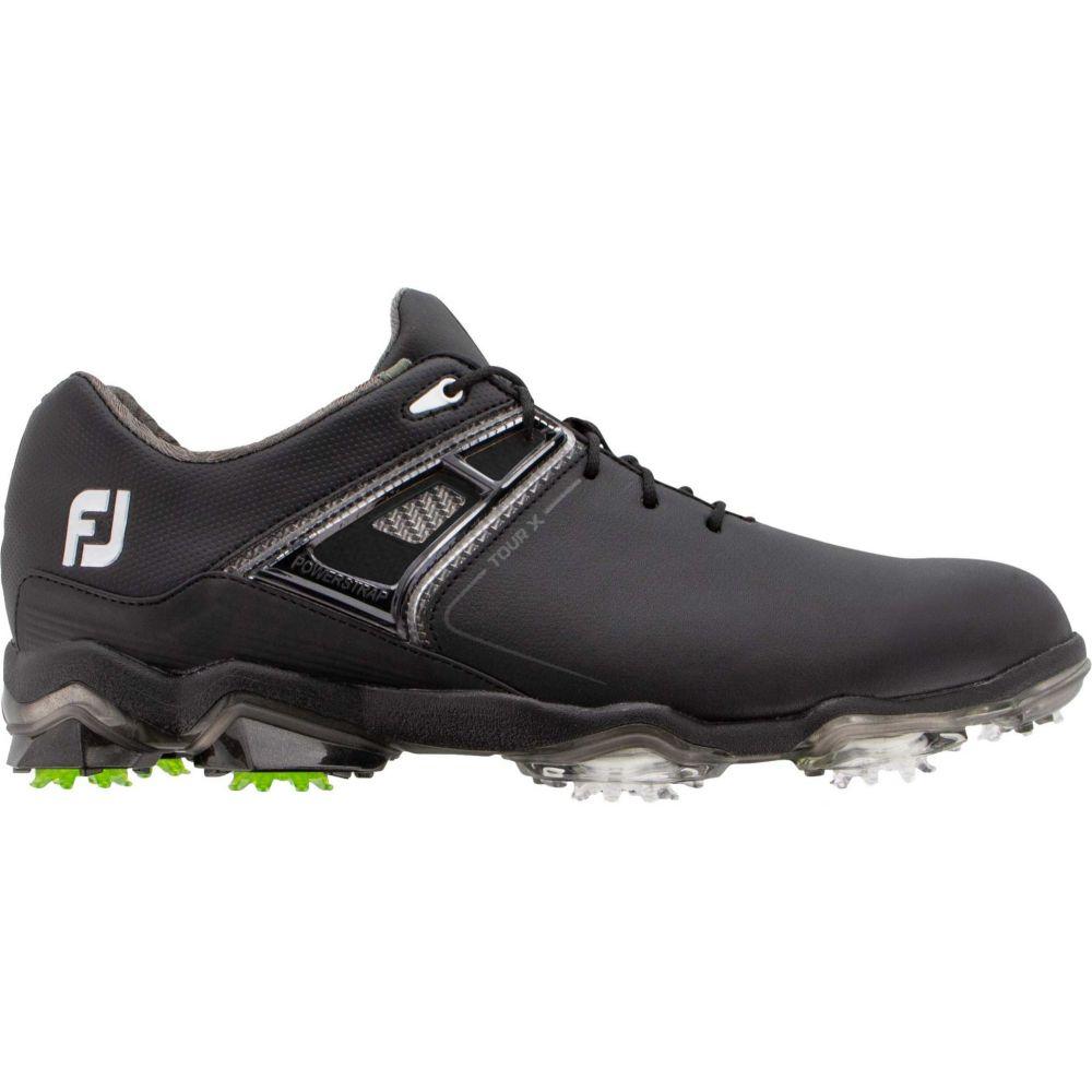フットジョイ FootJoy メンズ ゴルフ シューズ・靴【Tour X Golf Shoes】Black