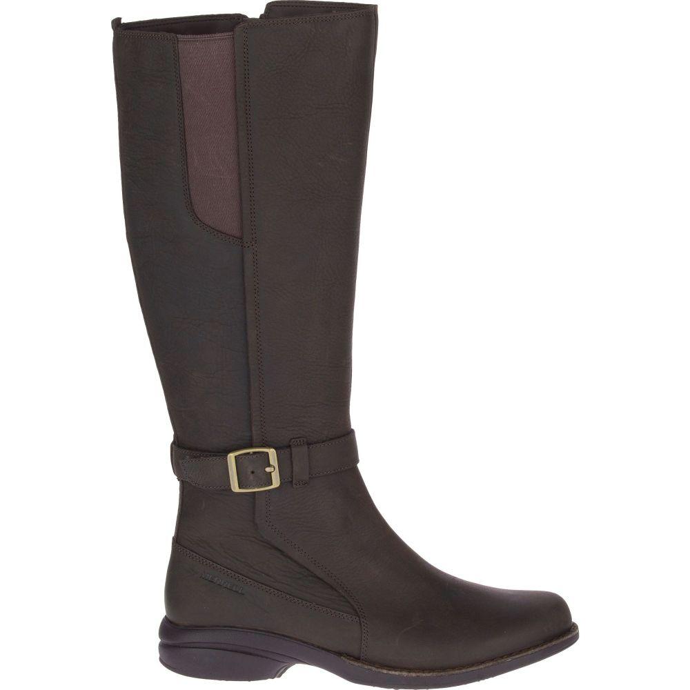 メレル Merrell レディース ブーツ シューズ・靴【Andover Tall Waterproof Boots】Espresso