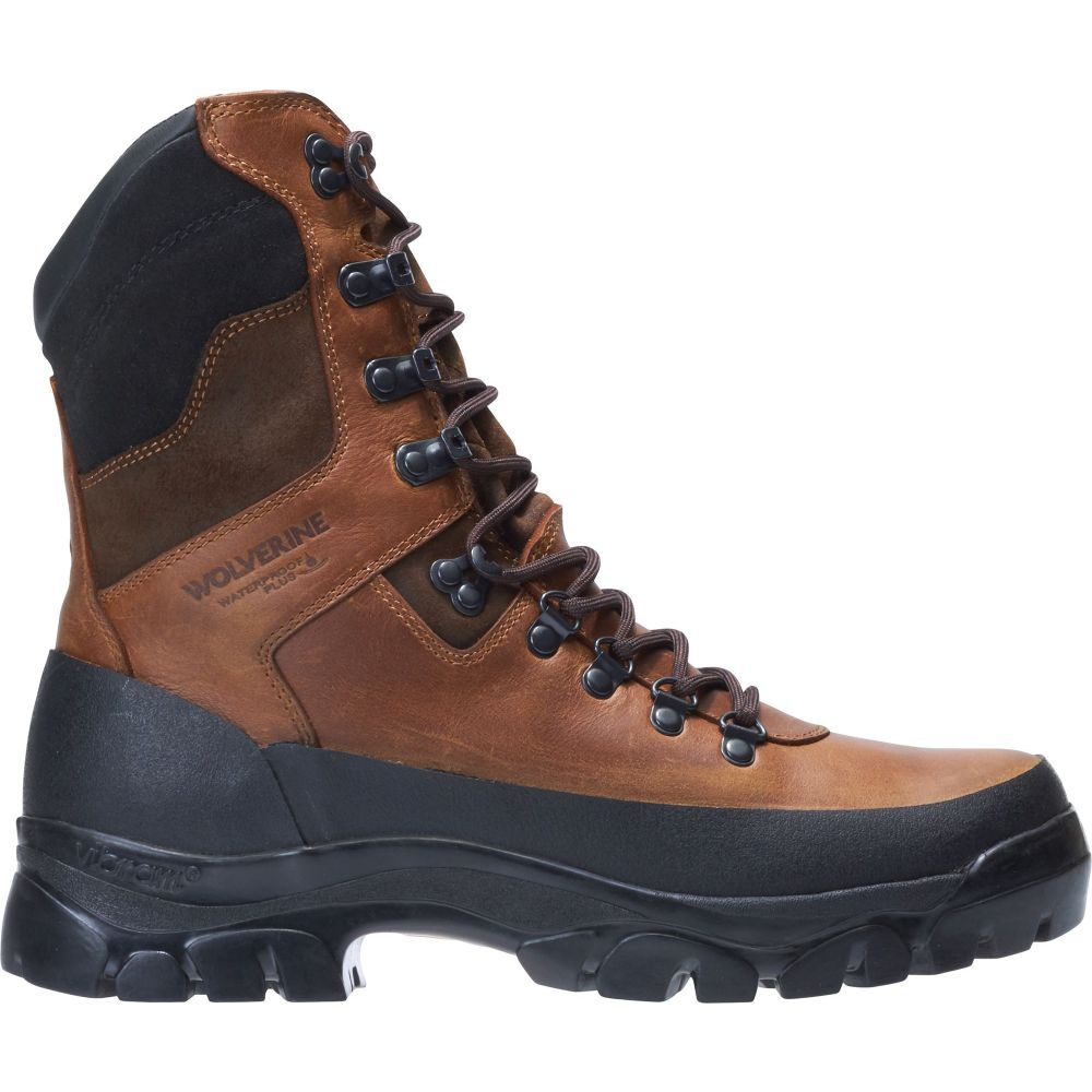 ウルヴァリン Wolverine メンズ ブーツ シューズ・靴【Mountain Hunt 400g Waterproof Hunting Boots】Brown