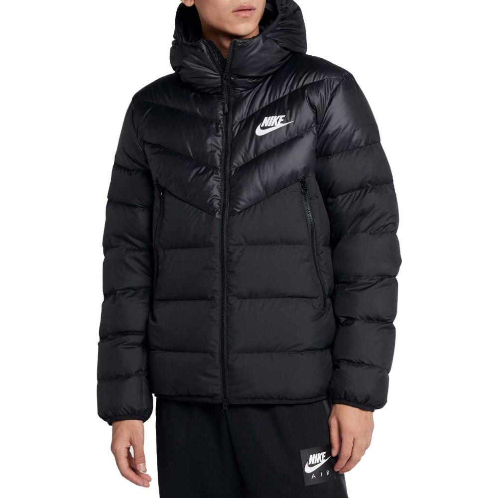 ナイキ Nike メンズ ダウン・中綿ジャケット アウター【Sportswear Windrunner Down Jacket】Black/White
