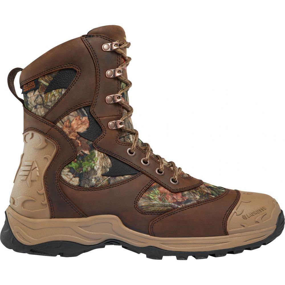 ラクロッセ LaCrosse メンズ 陸上 シューズ・靴【Atlas 8'' Mossy Oak Break-Up Country 1200g Waterproof Hunting Boots】Mossy Oak Breakup Country