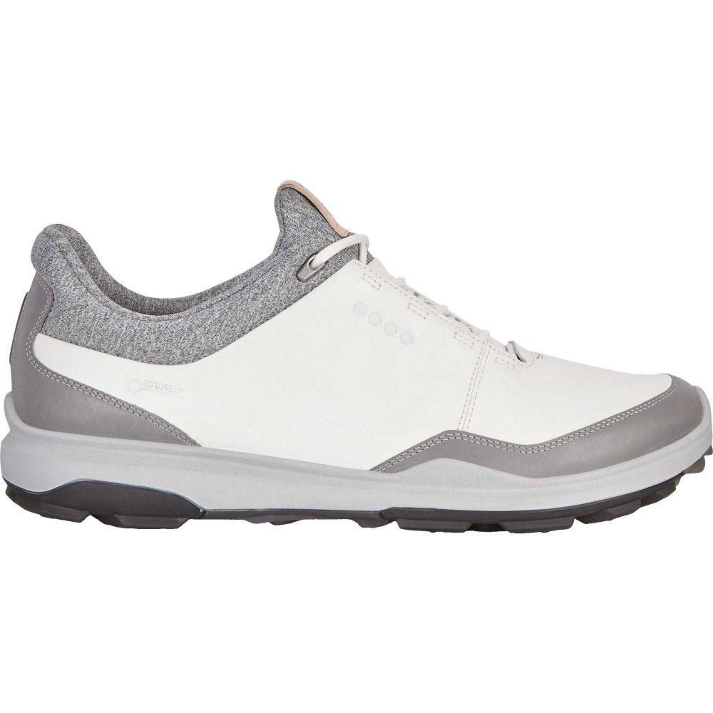 エコー ECCO メンズ ゴルフ シューズ・靴【BIOM Hybrid 3 GTX Golf Shoes】White/Black