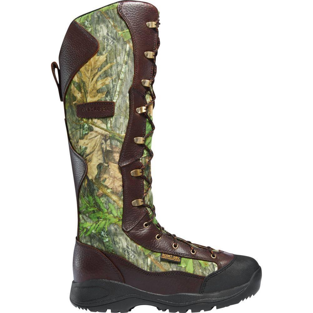 ラクロッセ LaCrosse メンズ ブーツ シューズ・靴【Venom 18'' NWTF Mossy Oak Waterproof Snake Boots】Mossy Oak Obsession