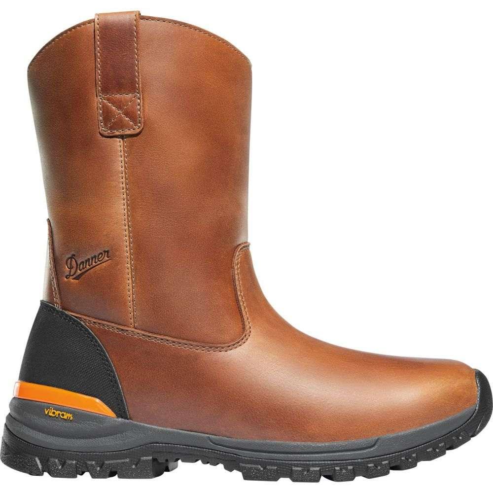 ダナー Danner メンズ ブーツ ウェリントンブーツ ワークブーツ シューズ・靴【Stronghold Wellington 10'' EH Composite Toe Work Boots】Brown