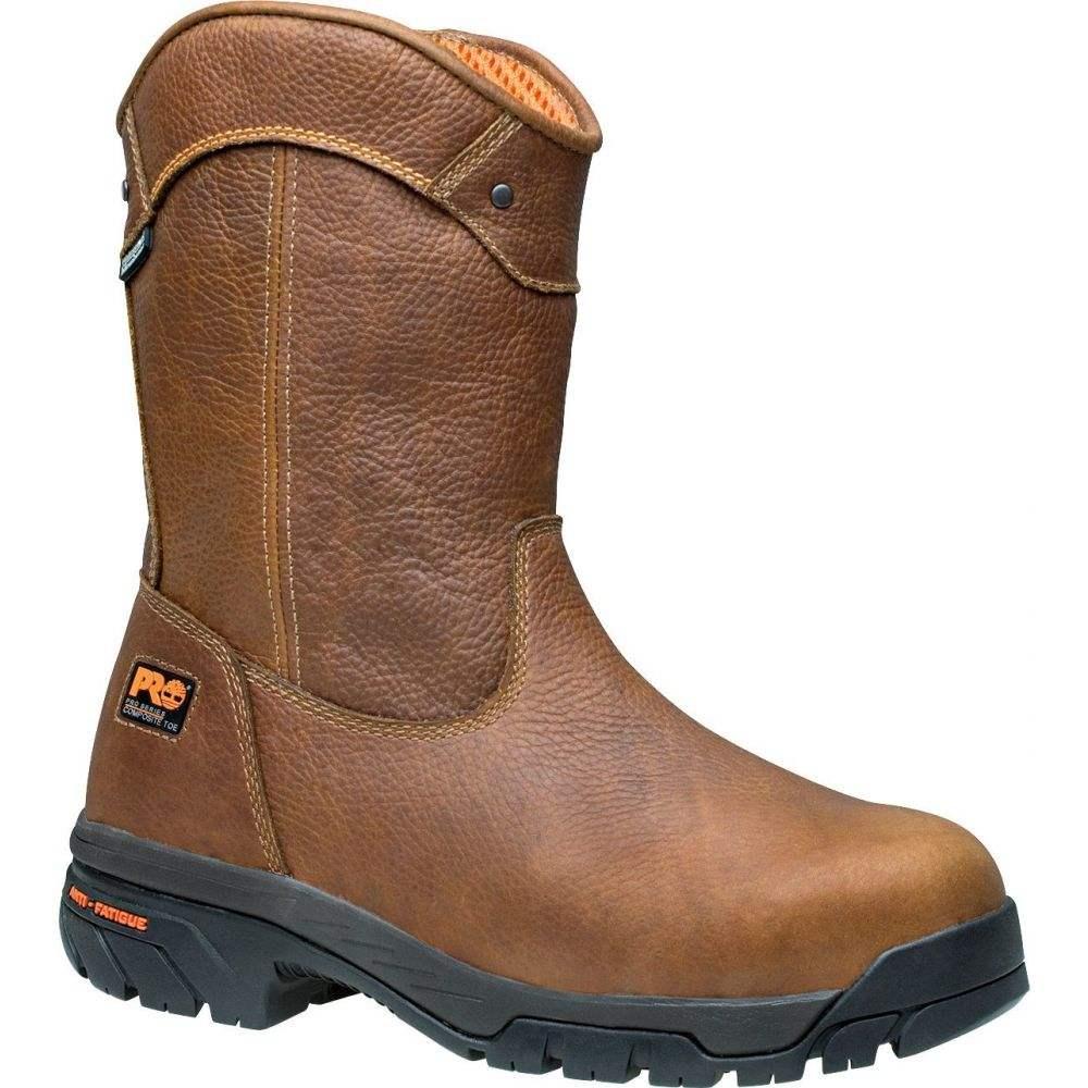 ティンバーランド Timberland メンズ ブーツ ウェリントンブーツ ワークブーツ シューズ・靴【PRO Helix Wellington Waterproof Composite Toe Work Boots】Tan