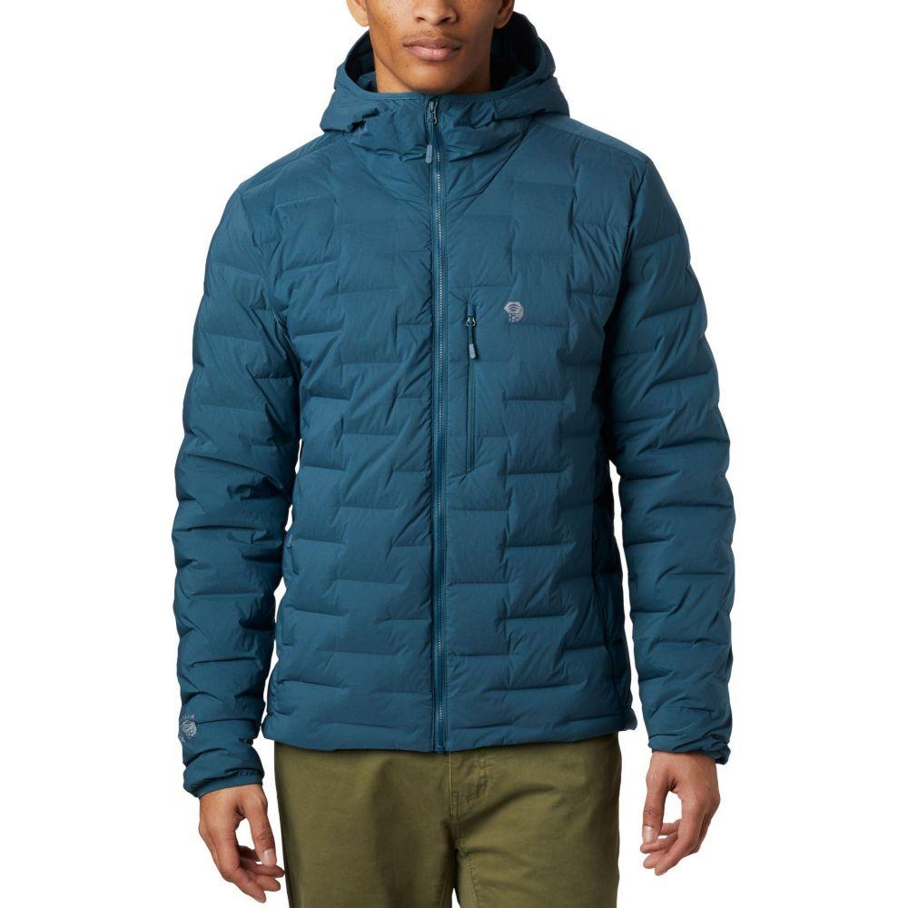 マウンテンハードウェア Mountain Hardwear メンズ ジャケット フード アウター【Super/DS Strethdown Hooded Jacket】Icelandic