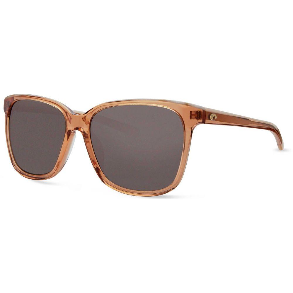 コスタデルメール Costa Del Mar レディース メガネ・サングラス 【May 580G Polarized Sunglasses】Gray
