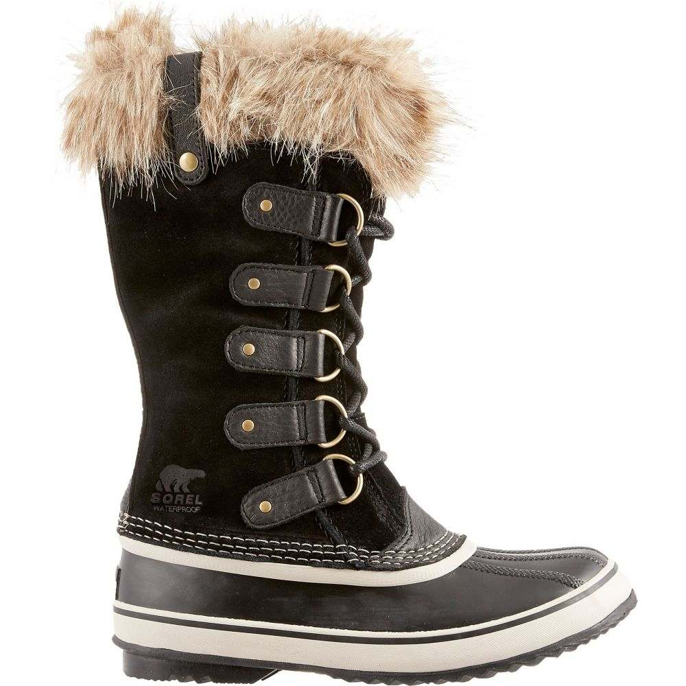 ソレル SOREL レディース ブーツ ウインターブーツ シューズ・靴【Joan of Arctic Insulated Waterproof Winter Boots】Black/Stone