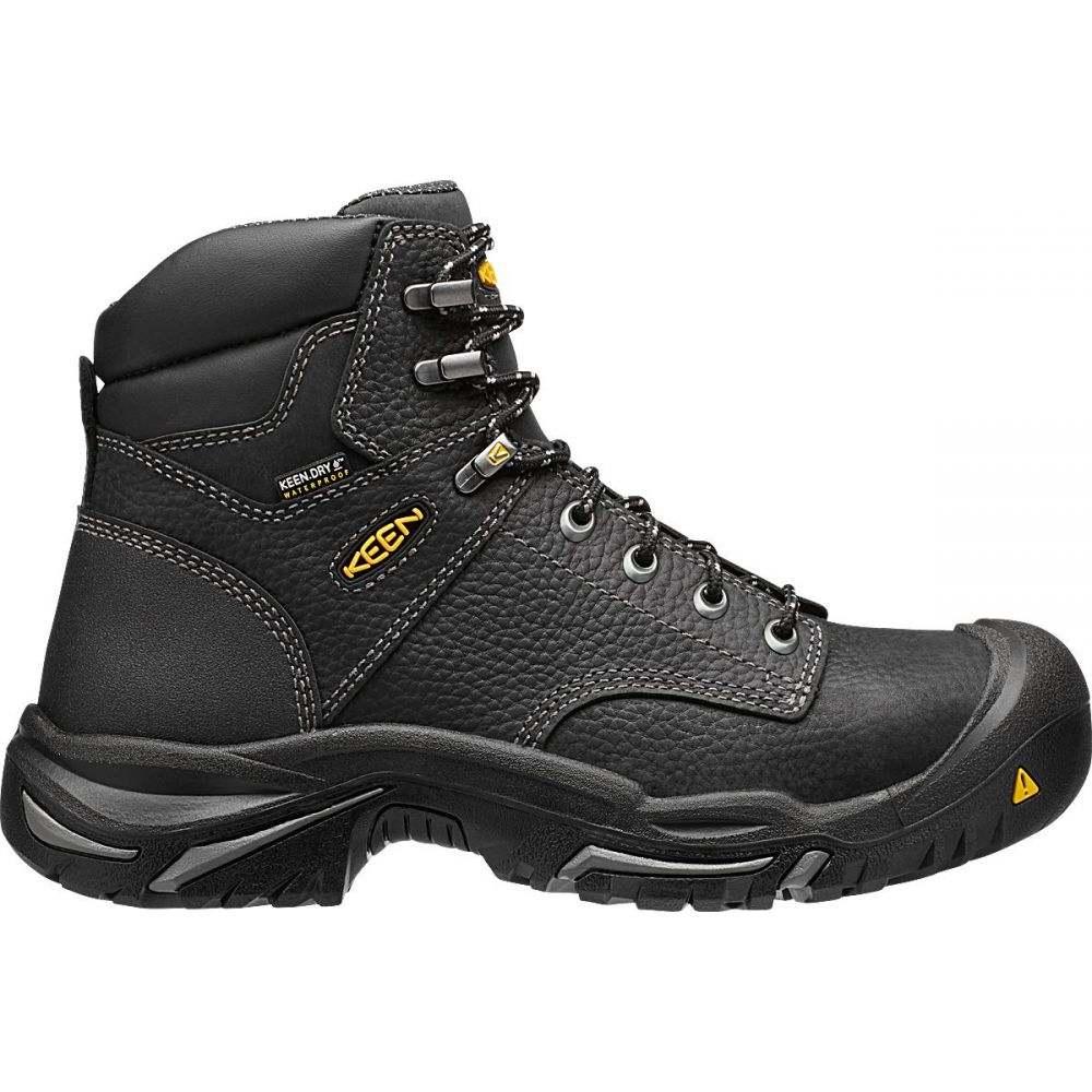 キーン Keen メンズ ブーツ ワークブーツ シューズ・靴【KEEN Mt. Vernon 6'' Waterproof Steel Toe Work Boots】Black