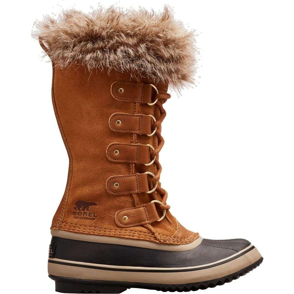 ソレル SOREL レディース ブーツ ウインターブーツ シューズ・靴【Joan of Arctic Insulated Waterproof Winter Boots】Camel brown
