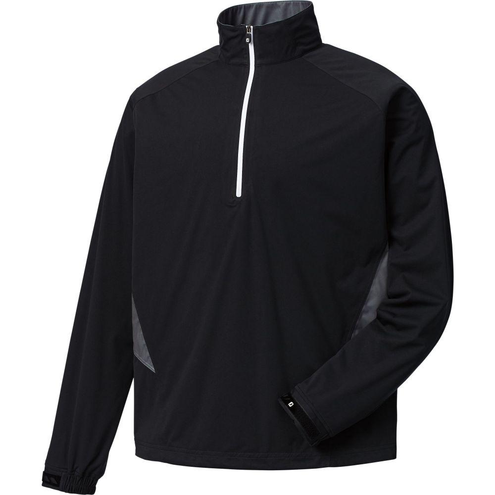 フットジョイ FootJoy メンズ ゴルフ トップス【HydroKnit Golf Pullover】Black/Charcoal