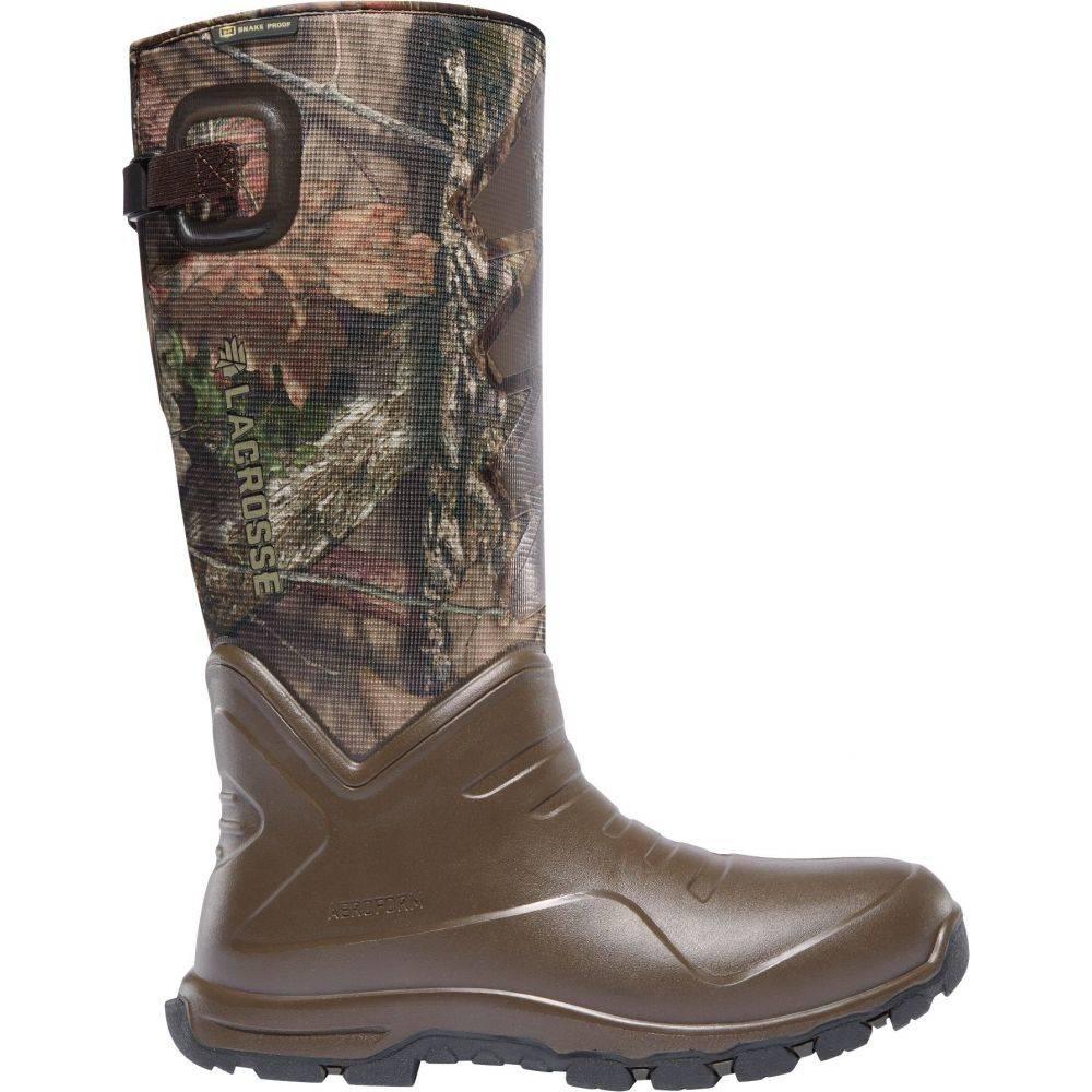 ラクロッセ LaCrosse メンズ ブーツ シューズ・靴【AeroHead Sport 16'' 3.5mm Waterproof Snake Boots】Mossy Oak Breakup Country