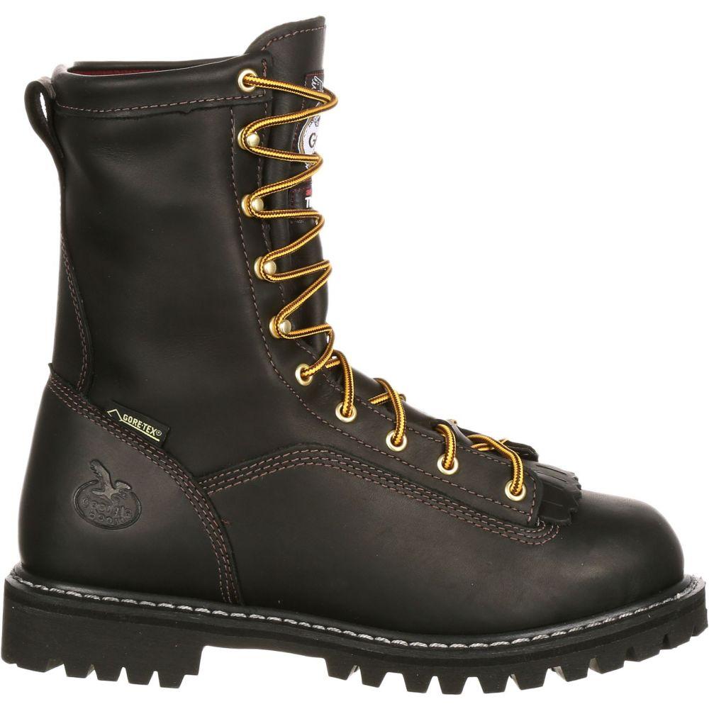 ジョージアブーツ Georgia Boots メンズ ブーツ ワークブーツ シューズ・靴【Georgia Boot Lace-to-Toe 200g GORE-TEX Work Boots】Black