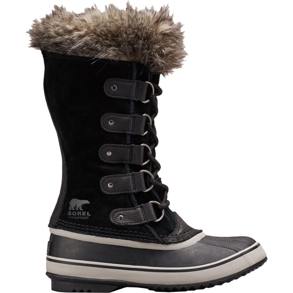 ソレル SOREL レディース ブーツ ウインターブーツ シューズ・靴【Joan of Arctic Insulated Waterproof Winter Boots】Black/Quarry