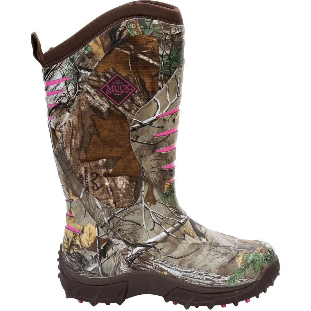 マックブーツ Muck Boots レディース ブーツ シューズ・靴【Pursuit Stealth Rubber Hunting Boots】Realtree Xtra