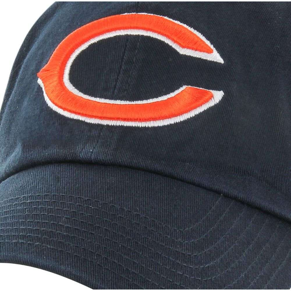 フォーティセブン 47 メンズ キャップ 帽子 ' Chicago Bears Clean Up Adjustable Navy HatSjVULqzMpG
