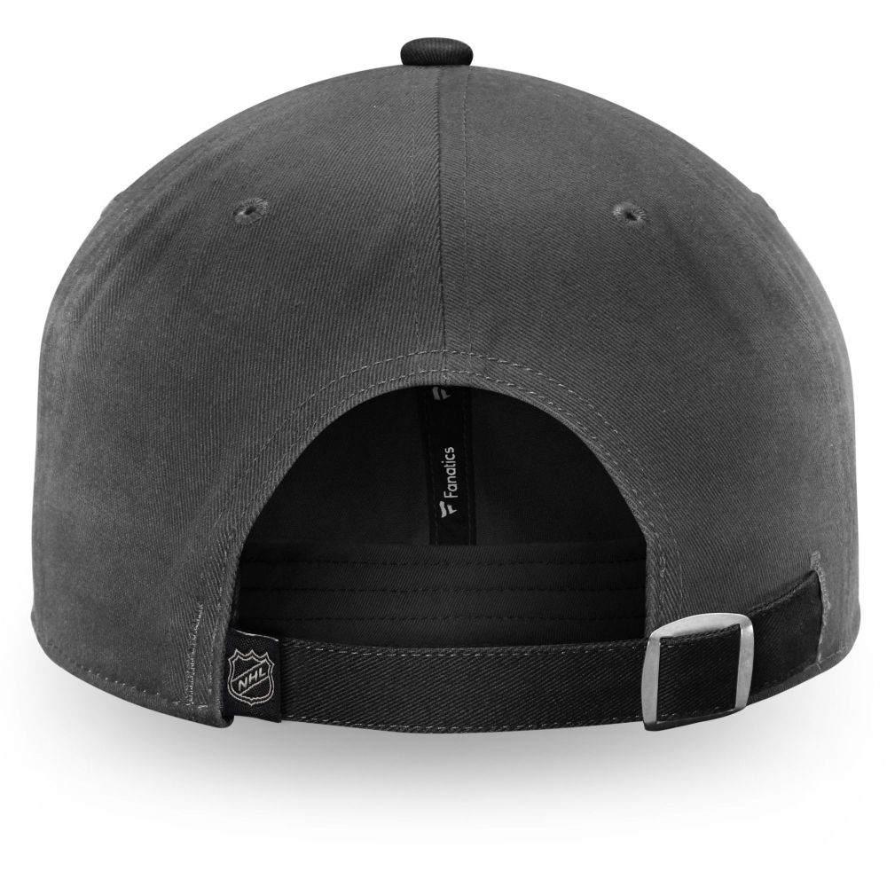 ファナティクス Fanatics メンズ キャップ 帽子 NHL Vegas Golden Knights Fundamental Grey Adjustable HatXn0Pwk8O