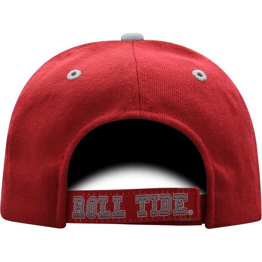 トップオブザワールド Top of the World メンズ キャップ 帽子 Alabama Crimson Tide Crimson Triple Threat Adjustable HatNwO80mnv