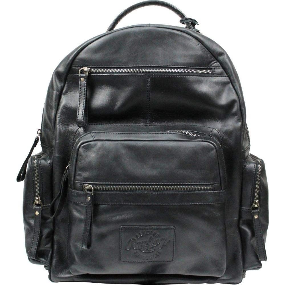 ローリングス Rawlings ユニセックス バックパック・リュック バッグ【Frankie Leather Backpack】Black