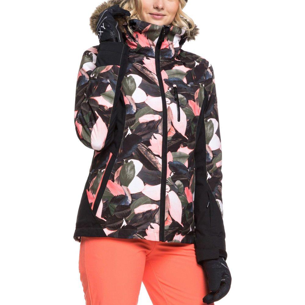 ロキシー Roxy レディース スキー・スノーボード ジャケット アウター【Jet Ski Snow Jacket】Living Coral Plumes