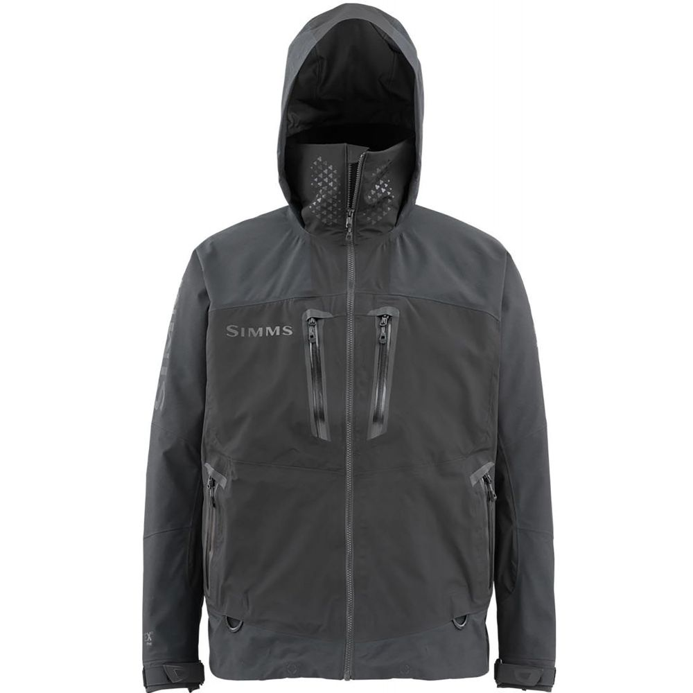 シムズ Simms メンズ 釣り・フィッシング ジャケット アウター【ProDry Fishing Jacket】Black