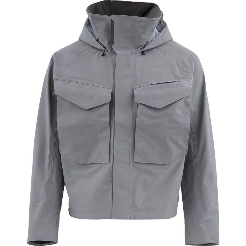 シムズ Simms メンズ ジャケット ウェーディングジャケット アウター【Guide Wading Jacket】Steel