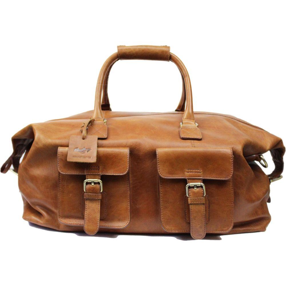 ローリングス Rawlings ユニセックス ボストンバッグ・ダッフルバッグ バッグ【Frankie 19'' Leather Duffle Bag】Cognac