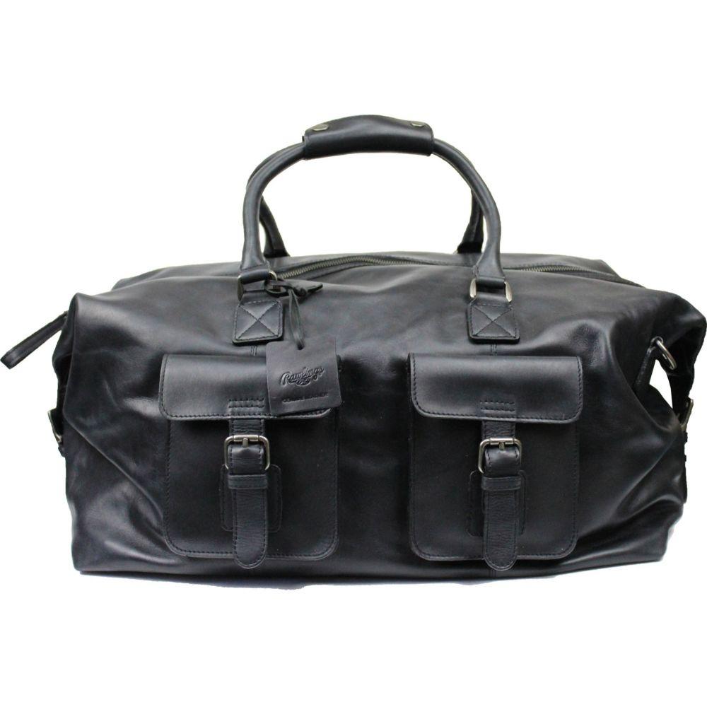 ローリングス Rawlings ユニセックス ボストンバッグ・ダッフルバッグ バッグ【Frankie 19'' Leather Duffle Bag】Black
