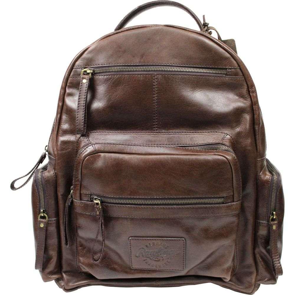 ローリングス Rawlings ユニセックス バックパック・リュック バッグ【Frankie Leather Backpack】Brown