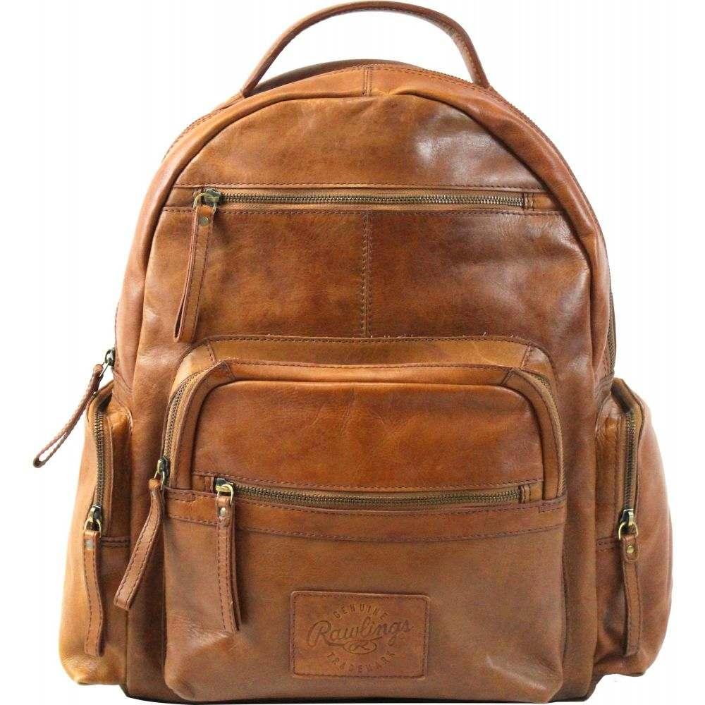 ローリングス Rawlings ユニセックス バックパック・リュック バッグ【Frankie Leather Backpack】Cognac