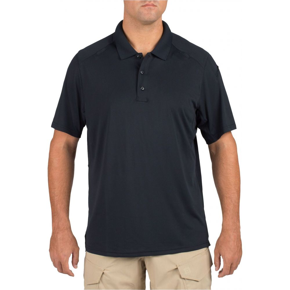 5.11 タクティカル 5.11 Tactical メンズ ポロシャツ 半袖 トップス【Helios Short Sleeve Polo (Regular and Big & Tall)】Black