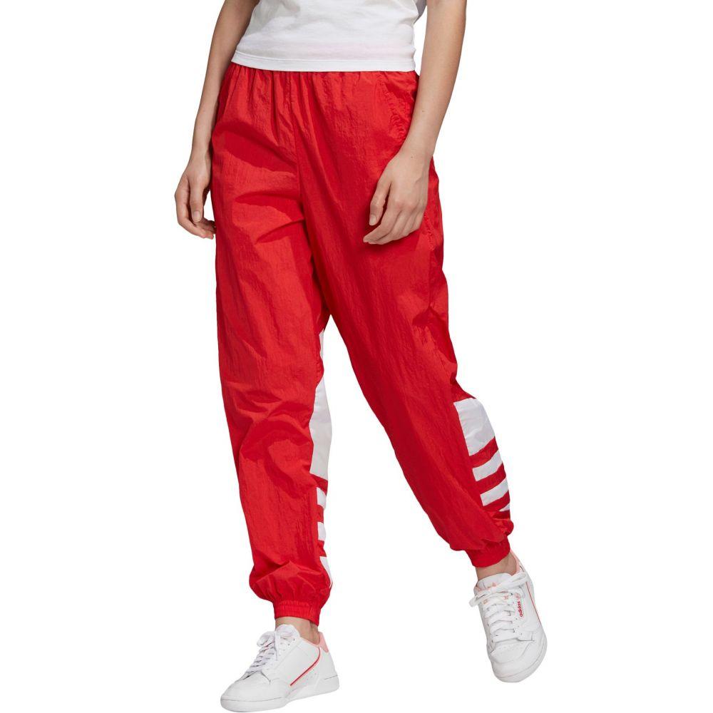 アディダス adidas レディース スウェット・ジャージ ボトムス・パンツ【Originals Large Logo Track Pants】Lush Red/White